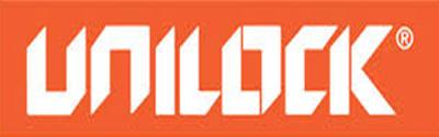 Unilock stone manufacturing Logo