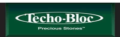 Techo-Bloc stone manufacturing Logo